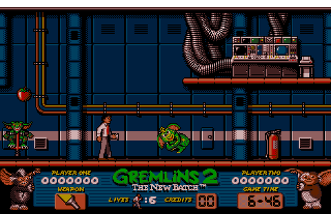 Gremlins 2: The New Batch (1990) by Motivetime Amiga game