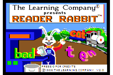 Reader Rabbit Screenshots for Apple IIgs - MobyGames