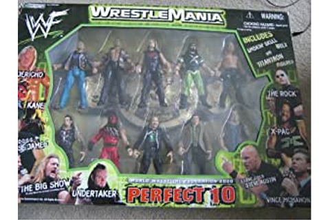 WWE/WWF Wrestlemania 2000 Perfect 10: Amazon.co.uk: Toys ...