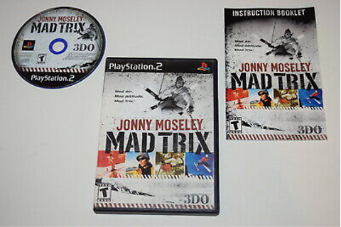 Jonny Moseley Mad Trix Playstation 2 PS2 Video Game ...
