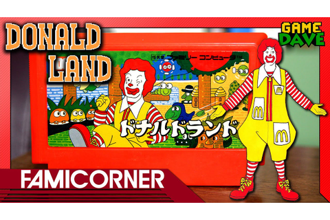 Donald Land (McDonald's Famicom Game) - FamiCorner Ep 12 ...