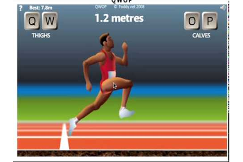 How To Run On QWOP! - YouTube