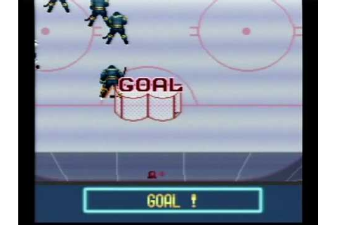 Pro Sports Hockey SNES 2-Player Full Game Footage - YouTube