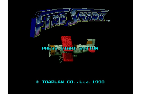 Fire Shark - Sega Genesis (Mega Drive) Game