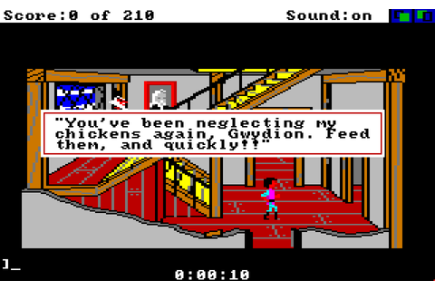 King's Quest III: To Heir Is Human - The Company - Classic ...