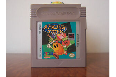Amazing Tater Game Boy gameboy Nintendo Genuine Original ...