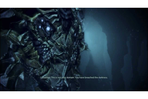 Mass Effect 3: Meeting and talking with Leviathan - YouTube