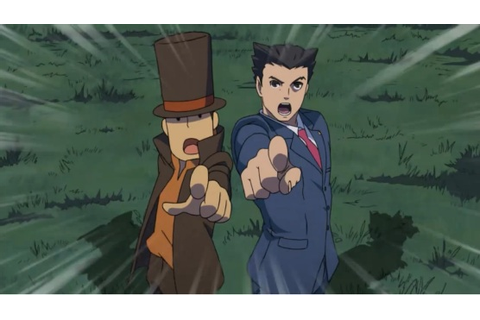 Professor Layton vs. Phoenix Wright: Ace Attorney (3DS ...