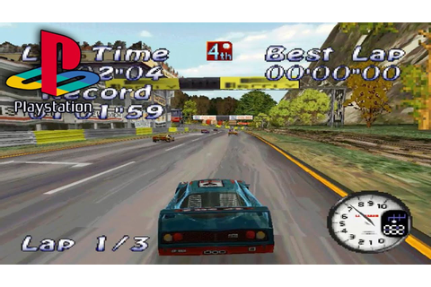 All Star Racing (PS1 Gameplay) - Supercar Challenge - YouTube
