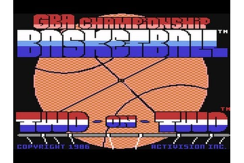 GBA Championship Basketball: Two-on-Two - The Season: Game ...