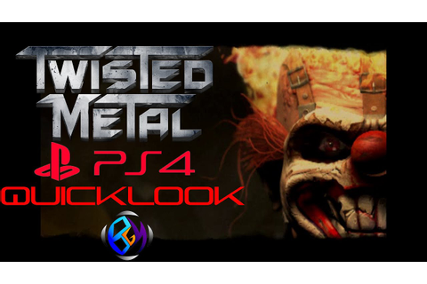 Twisted Metal: Black (PS4) - Quicklook - YouTube