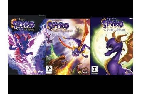 The Legend of Spyro games Trilogy Soundtrack - YouTube