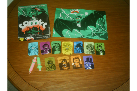 THE COBWEBBED ROOM: 'SPOOKS' A spooky 'Snap' card game