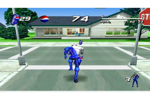 Pepsiman gameplay - YouTube