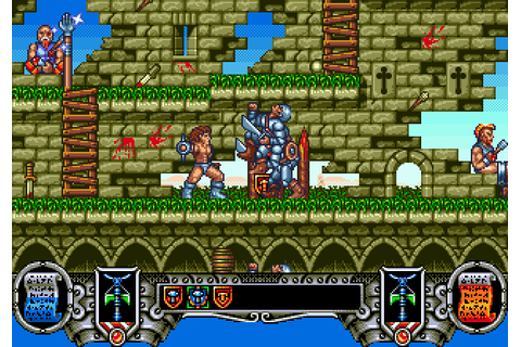 Onslaught (1991) by Nextgrand Mega Drive game