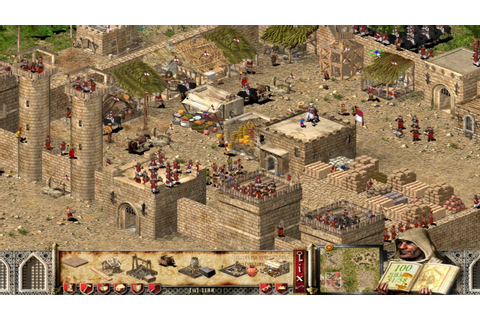 Stronghold Crusader Game Play [ Build Castle.Dec 2015 ...