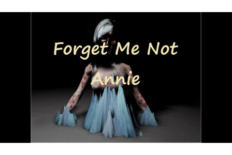 FREE SCARY PC GAME + DOWNLOAD | Forget me not annie - YouTube