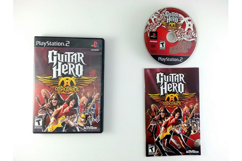 Guitar Hero Aerosmith game for Playstation 2 (Complete ...