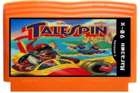 Disney's TaleSpin, game 8 bit, NES for Famicom, Dendy ...