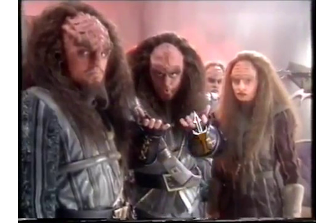 Star Trek Klingon (1996) PC FMV game trailer - YouTube