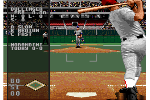 Download World Series Baseball 98 (Genesis) - My Abandonware