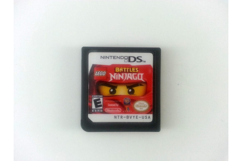 LEGO Battles: Ninjago game for Nintendo DS (Loose) | The ...