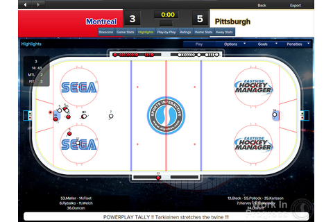 Eastside Hockey Manager › Games-Guide