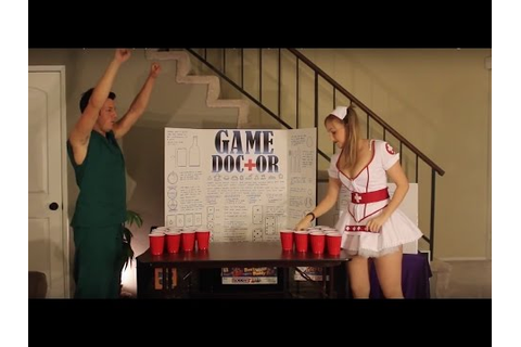 "How to Play ""BEER PONG"" by the Game Doctor (Drinking Game ..."