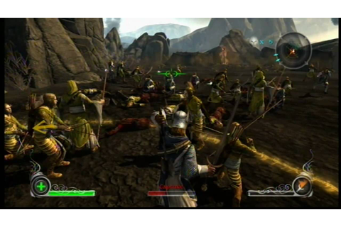 The Lord of the Rings - Conquest Gameplay [XBOX 360] - YouTube