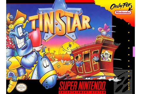 Tin Star SNES Super Nintendo