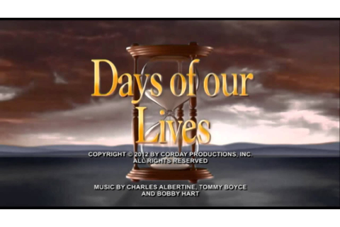 Days of our Lives Full Music Theme - YouTube