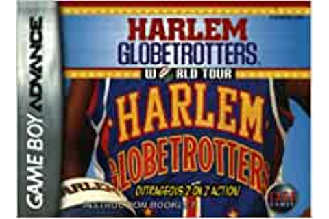 Harlem Globetrotters World Tour GBA Instruction Booklet ...