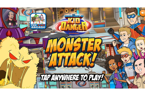 The Adventures of Kid Danger: Monster Attack! - Dr. Minyak ...