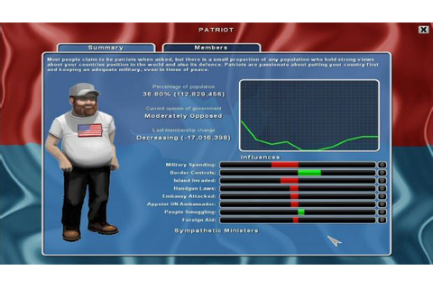 Democracy 2 Free Download (v1.5) « IGGGAMES