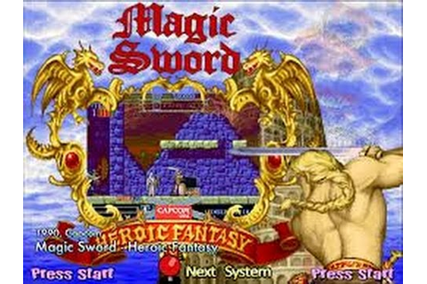 Magic Sword: Heroic Fantasy (Arcade) - YouTube