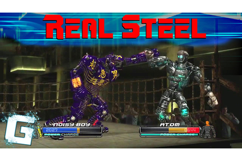 Real Steel - The Video Game [Xbox 360] - YouTube
