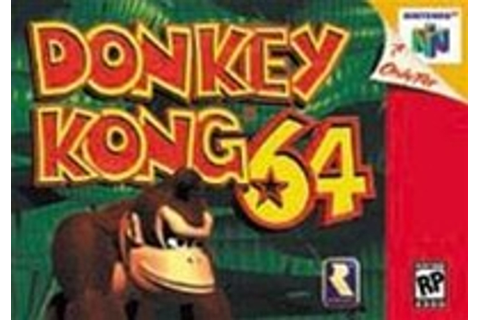 Donkey Kong 64 Nintendo 64 N64 Game For Sale | DKOldies