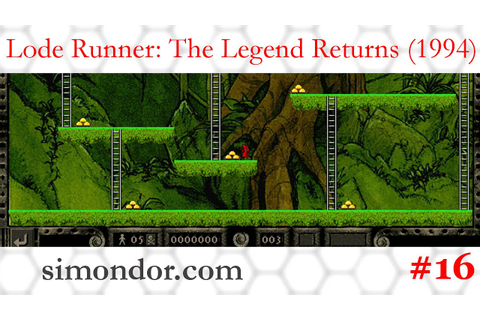 Lode Runner: The Legend Returns - niveaux 64-71 - YouTube