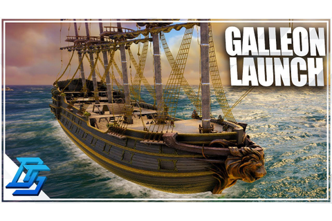 LAUNCHING FULLY GUNNED GALLEON, 52 GUNS AND COUNTING ...