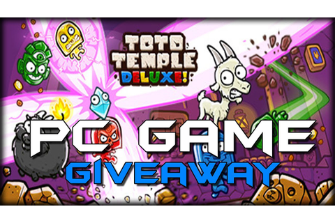 Toto Temple Deluxe - Full Game GIVEAWAY ( 2 Steam CD-Keys ...