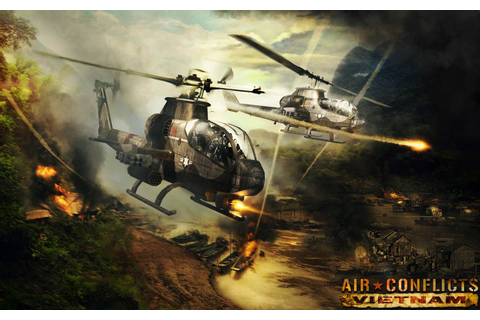 New Artwork Released For Air Conflicts: Vietnam ...
