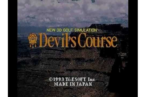Devil's Course (INTRO - GAME PLAY - SUPER FAMICOM - 1993 ...
