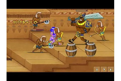 Egyptian Tale Flash Adventure Game - YouTube