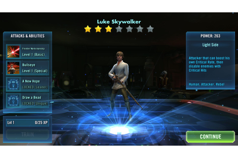 Star Wars: Galaxy of Heroes Game Review | MMOHuts
