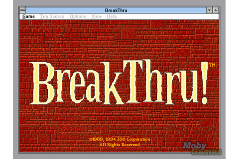 Download BreakThru! - My Abandonware