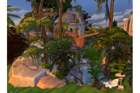Jungle Adventure All-in-one lot by artrui at Mod The Sims ...