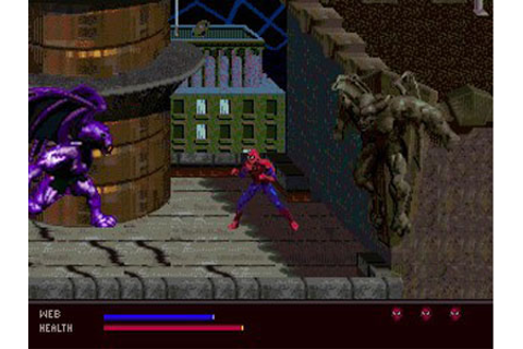 Spider-Man: Web of Fire Review for Sega 32x (1996 ...