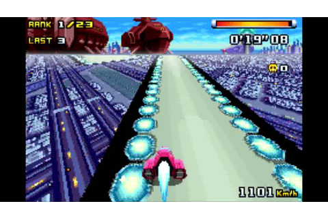 F-Zero Climax: Bronze Cup Queen Meteor gameplay 60fps ...