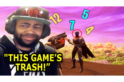 "Fortnite's Worst ""THIS GAME'S TRASH"" Moments of All Time ..."