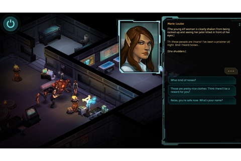 Shadowrun Returns (2013) by Harebrained Schemes Windows game